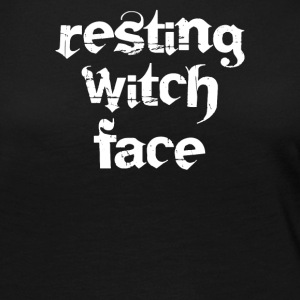 Resting witch face - Women's Premium Long Sleeve T-Shirt