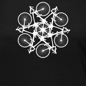 RLTW Bicycle Circle Kaleidospoke - Women's Premium Long Sleeve T-Shirt