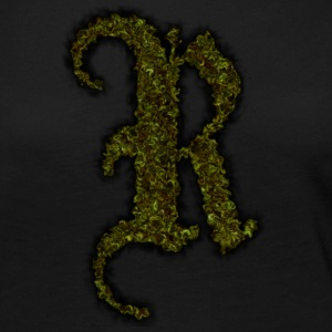 green weed raxx r letter - Women's Premium Long Sleeve T-Shirt