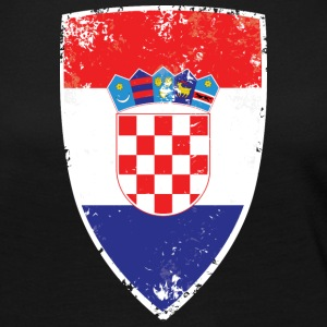 Flag of Croatia - Women's Premium Long Sleeve T-Shirt
