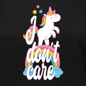I don´t care - unicorn - Women's Premium Long Sleeve T-Shirt