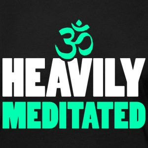 Heavily Meditated - Women's Premium Long Sleeve T-Shirt
