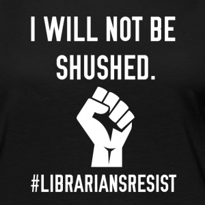 Librarians Resist - Women's Premium Long Sleeve T-Shirt