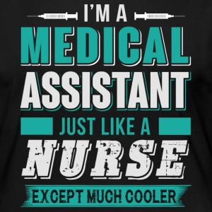 I'm A Medical Assistant T Shirt - Women's Premium Long Sleeve T-Shirt