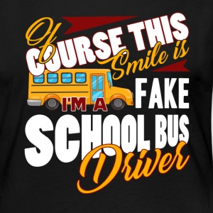 SCHOOL BUS DRIVER SHIRT - Women's Premium Long Sleeve T-Shirt