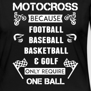 MOTOCROSS TEE SHIRT - Women's Premium Long Sleeve T-Shirt