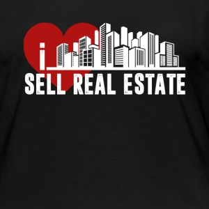 I Love Sell Real Estate Shirt - Women's Premium Long Sleeve T-Shirt