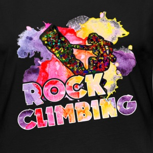Rock Climbing Shirt - Women's Premium Long Sleeve T-Shirt