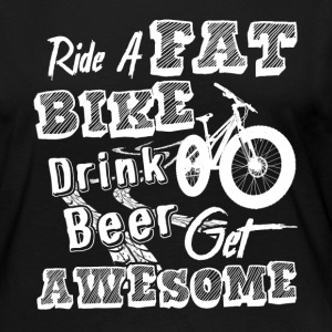 Ride A Fat Bike Shirt - Women's Premium Long Sleeve T-Shirt