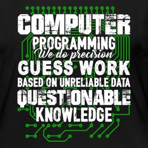 Computer Programming Shirt - Women's Premium Long Sleeve T-Shirt