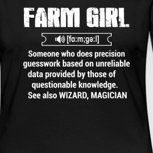 Define Farm girl T Shirts - Women's Premium Long Sleeve T-Shirt