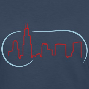 Chicago Skyline - Women's Premium Long Sleeve T-Shirt
