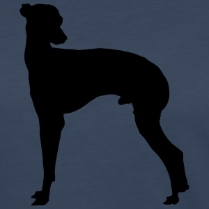 Vector dog Silhouette - Women's Premium Long Sleeve T-Shirt