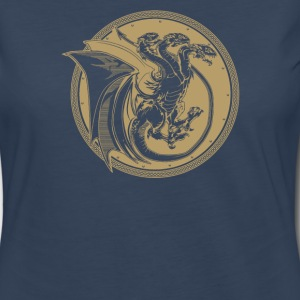 Triple Dragon - Women's Premium Long Sleeve T-Shirt