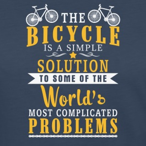 The Bicycle is a Simple - Women's Premium Long Sleeve T-Shirt