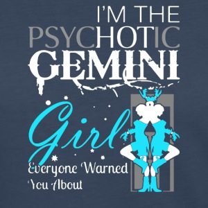PSYCHOTIC GEMINI GIRL SHIRT - Women's Premium Long Sleeve T-Shirt