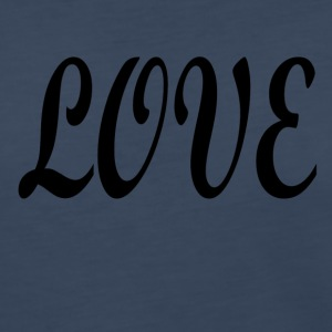 Love black font - Women's Premium Long Sleeve T-Shirt