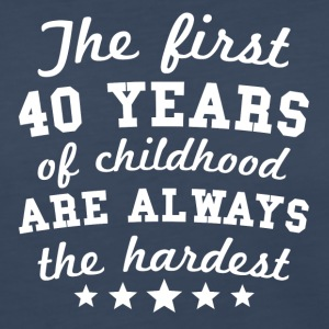 40 Years Of Childhood 40th Birthday - Women's Premium Long Sleeve T-Shirt