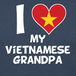 I Heart My Vietnamese Grandpa - Women's Premium Long Sleeve T-Shirt