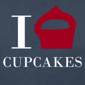 I love CUPCAKES - Women's Premium Long Sleeve T-Shirt