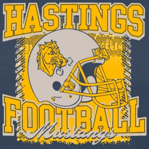 Hastings Football Mustangs - Women's Premium Long Sleeve T-Shirt