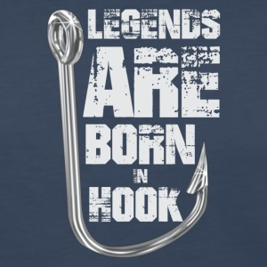 Legends Are Born in HOOK - Women's Premium Long Sleeve T-Shirt