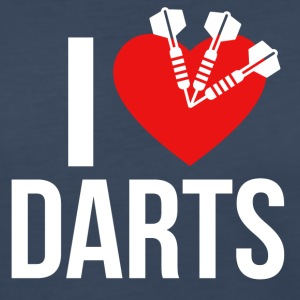 I LOVE DARTS - Women's Premium Long Sleeve T-Shirt