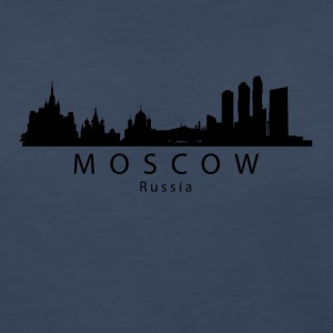 Moscow Russia Skyline - Women's Premium Long Sleeve T-Shirt