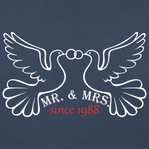 Mr And Mrs Since 1988 Married Marriage Engagement - Women's Premium Long Sleeve T-Shirt