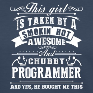Smokin Hot Awesome Programmer Tee Shirt - Women's Premium Long Sleeve T-Shirt