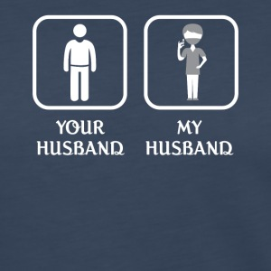 Husband Dentist Love- cool shirt,geek hoodie,tank - Women's Premium Long Sleeve T-Shirt