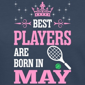 Best Players Are Born In May - Women's Premium Long Sleeve T-Shirt