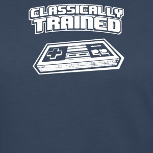 Classically Trained Video Game Console - Women's Premium Long Sleeve T-Shirt