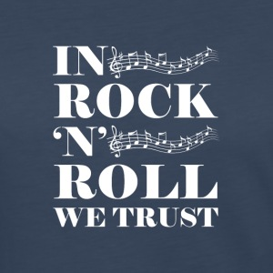 In Rock n Roll We (White) - Women's Premium Long Sleeve T-Shirt