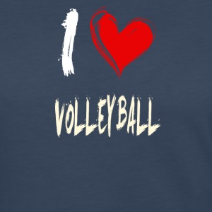I love VOLLEYBALL - Women's Premium Long Sleeve T-Shirt