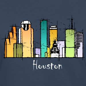 Houston skyline shirt - Women's Premium Long Sleeve T-Shirt