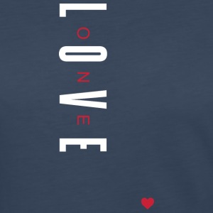 One Love (White/Red Letters) - Women's Premium Long Sleeve T-Shirt