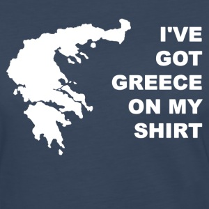 I ve Got Greece On My Shirt - Women's Premium Long Sleeve T-Shirt