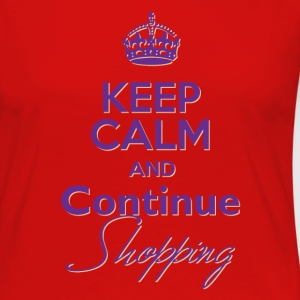 Keep Calm and Continue Shopping - Women's Premium Long Sleeve T-Shirt