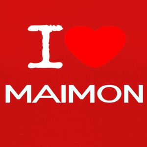 I LOVE MAIMON - Women's Premium Long Sleeve T-Shirt