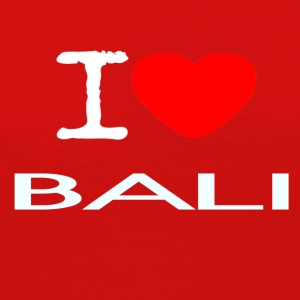I LOVE BALI - Women's Premium Long Sleeve T-Shirt