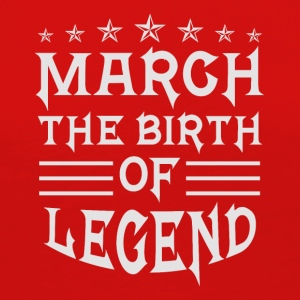 March The Birth of Legend - Women's Premium Long Sleeve T-Shirt