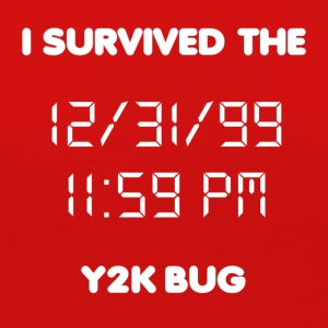 Y2K Bug - Women's Premium Long Sleeve T-Shirt
