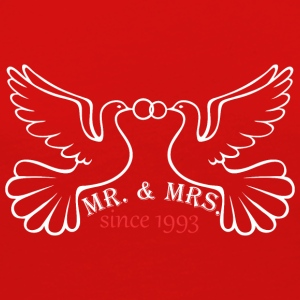 Mr And Mrs Since 1993 Married Marriage Engagement - Women's Premium Long Sleeve T-Shirt