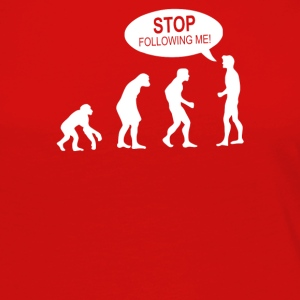 Banksy Funny Human Evolution Indie - Women's Premium Long Sleeve T-Shirt