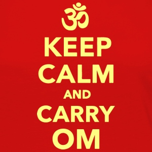 Keep calm and carry om - Women's Premium Long Sleeve T-Shirt