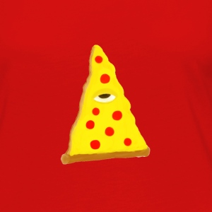 ILLUMINATI'S PIZZA (beta edition) - Women's Premium Long Sleeve T-Shirt