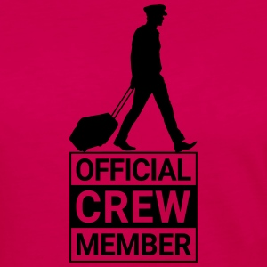 OFFICIAL CREW MEMBER PILOT - Women's Premium Long Sleeve T-Shirt