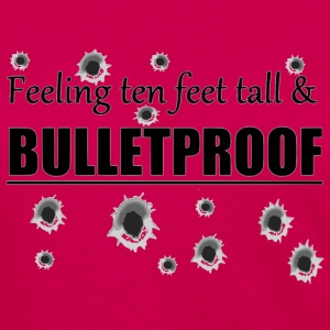 Feeling ten feet tall BULLETPROOF - Women's Premium Long Sleeve T-Shirt