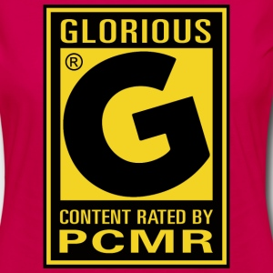 Content Rated Glorious by PC Master Race T Shirt - Women's Premium Long Sleeve T-Shirt